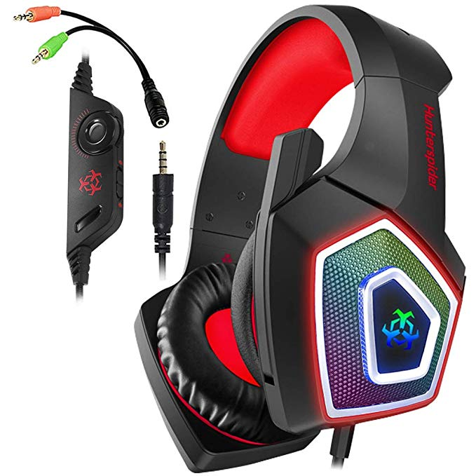 AIBOONDEE Xbox One Gaming Headset for PS4,PC