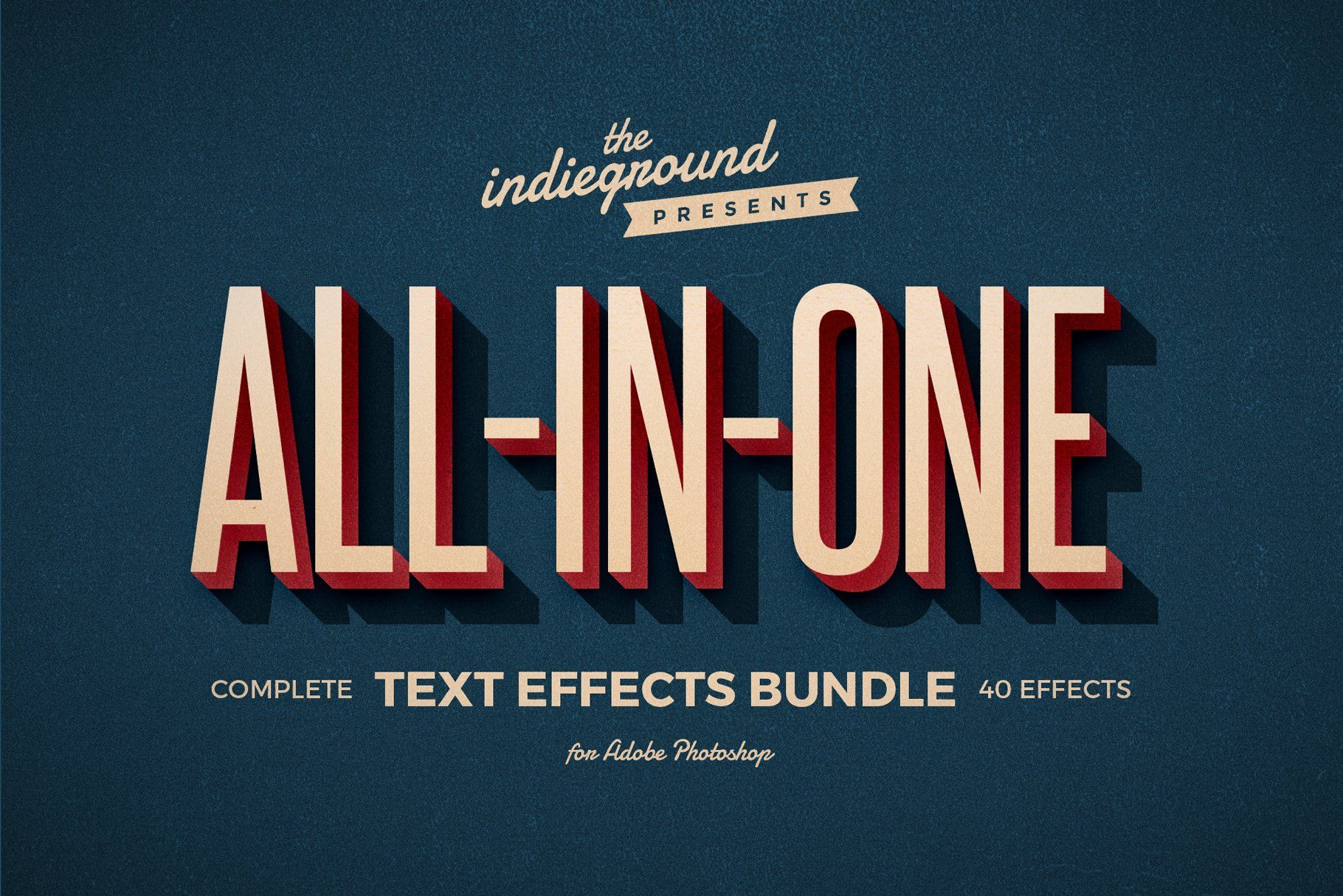 Retro Text Effects Complete Bundle In 2020 Retro Text Photoshop Retro Text Effects