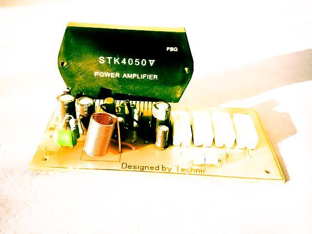 Stk 4050 200watt Power Amplifier Circuit Home Audio Audio