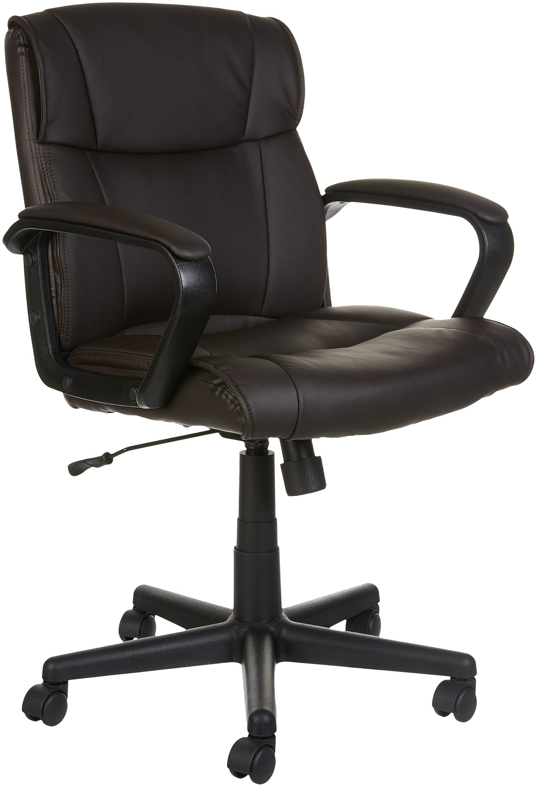 AmazonBasics MidBack Office Chair Brown *** You can get
