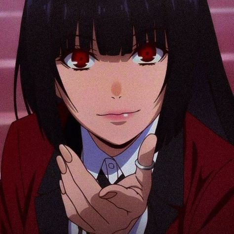 anime aesthetic collection - yumeko jabami.