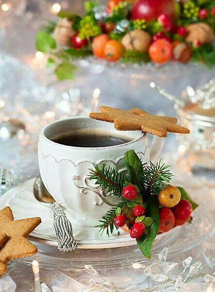 Christmas Cookies and Coffee