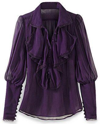 436aa33637ab3 ShopStyle  Ruffled blouse