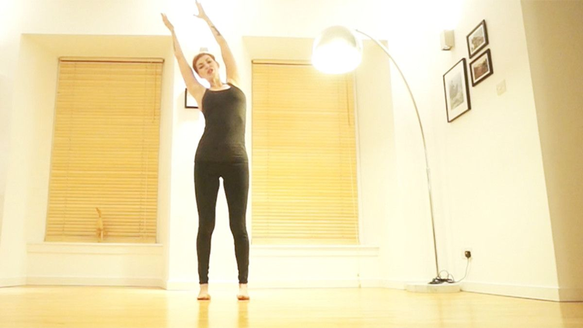 Strengthen your psoas and deep core with this empowering
