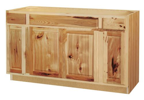 Value Choice 60 Thunder Bay Hickory Standard 4 Door Sink Base