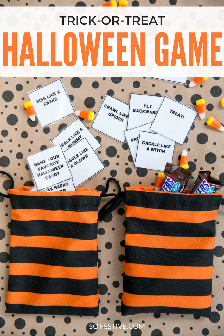 the easiest halloween party game  simple holiday ideas