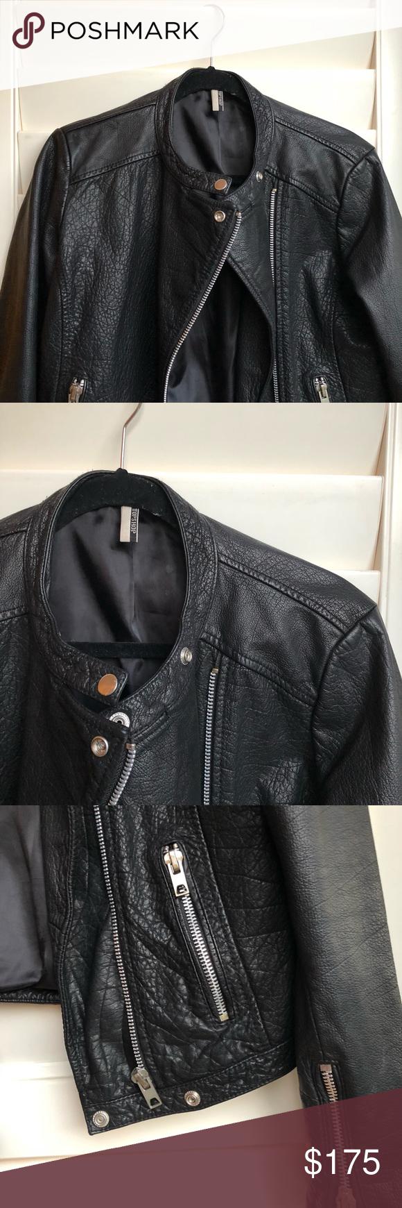 Leather Biker Jacket Jackets, Biker jacket