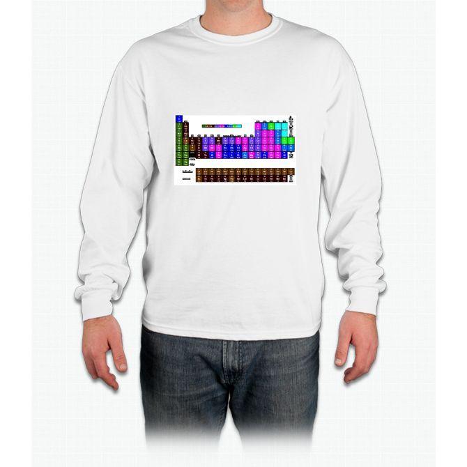 Pi 2015 Periodic Table Long Sleeve T-Shirt