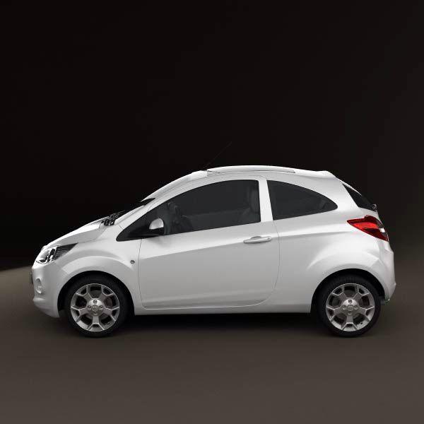 Ford Ka Titanium In White Toyota Aygo Future Car Car