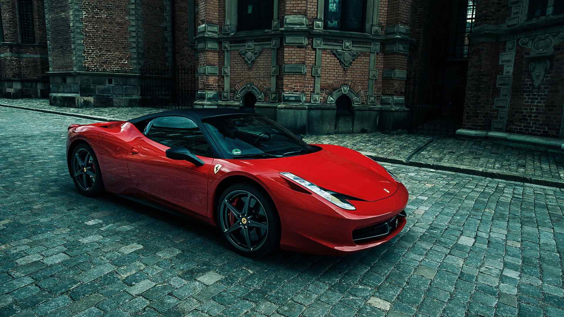 New Red Luxury Car For Rent In Dubai Sports Car And Luxury - Sports cars rental dubai