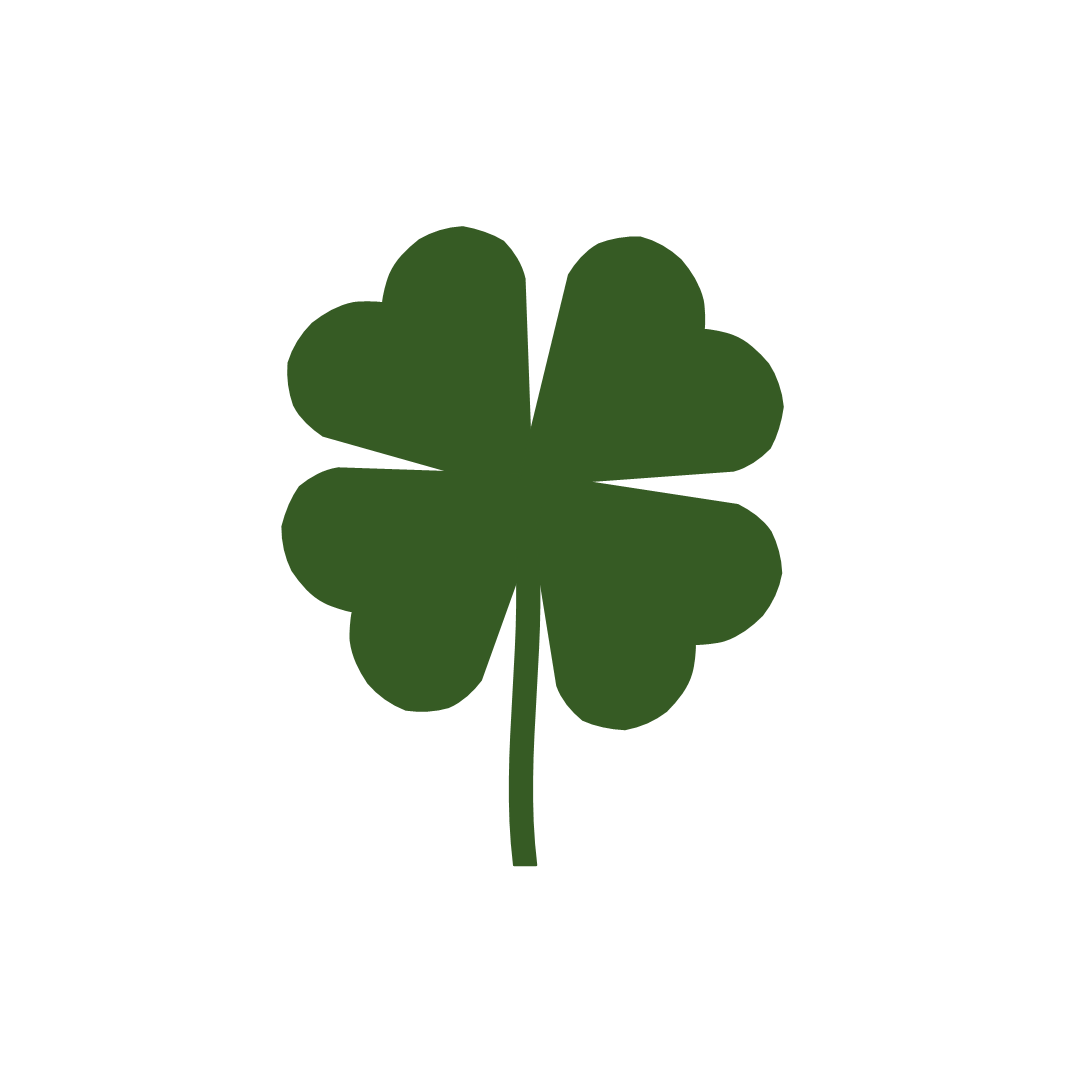 hight resolution of free printable shamrock clipart