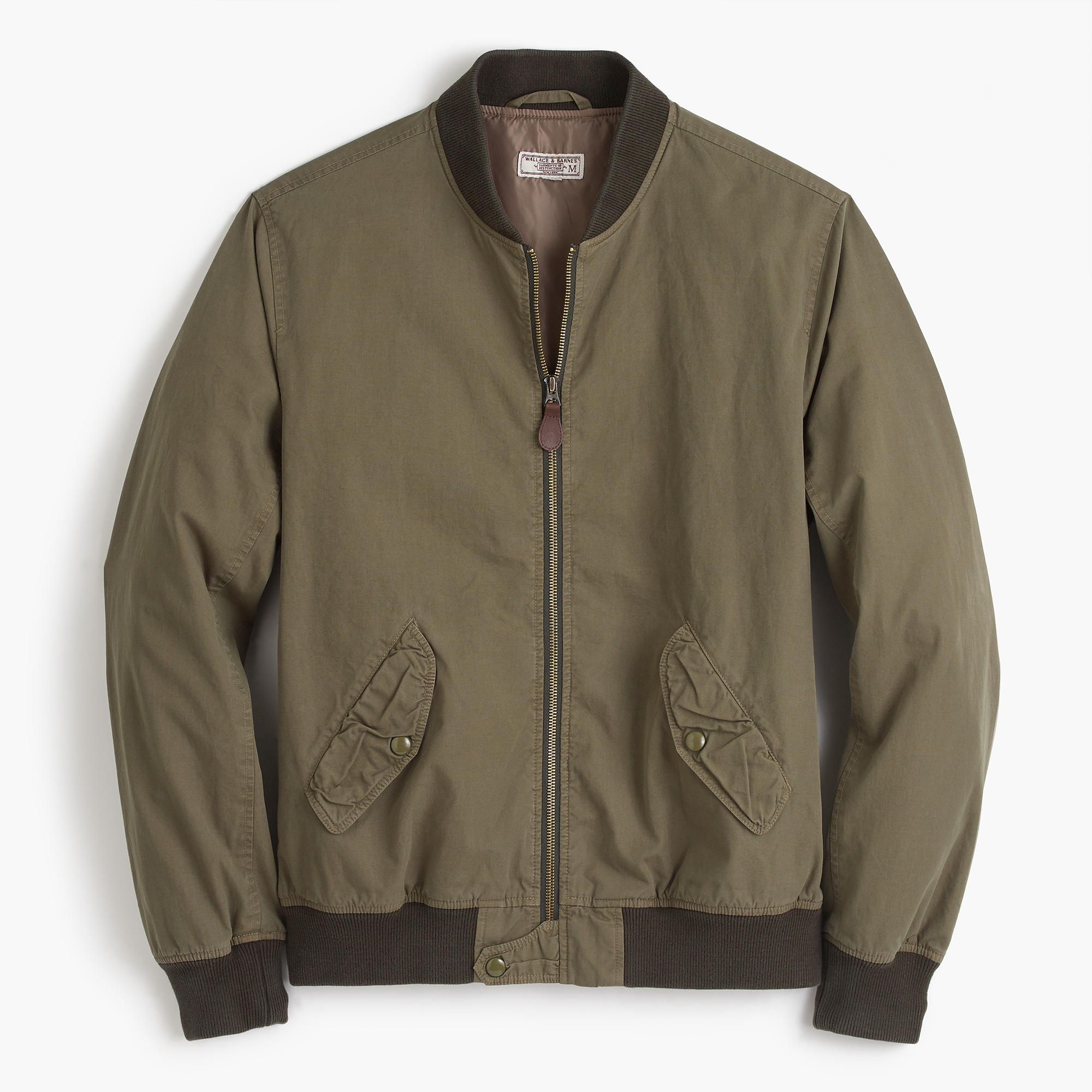 The MA1 bomber is the style that probably comes to mind