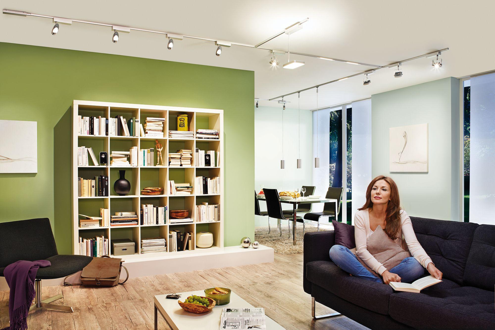 Modernes bungalow innenarchitektur wohnzimmer beleuchtungssysteme wohnzimmer  modernes minimalistisches haus