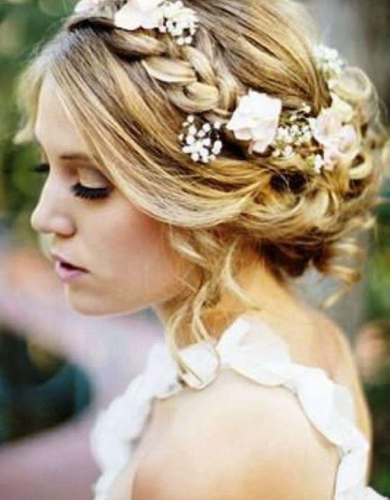 bridesmaid hairstyles for medium hair | bridesmaid hairstyles