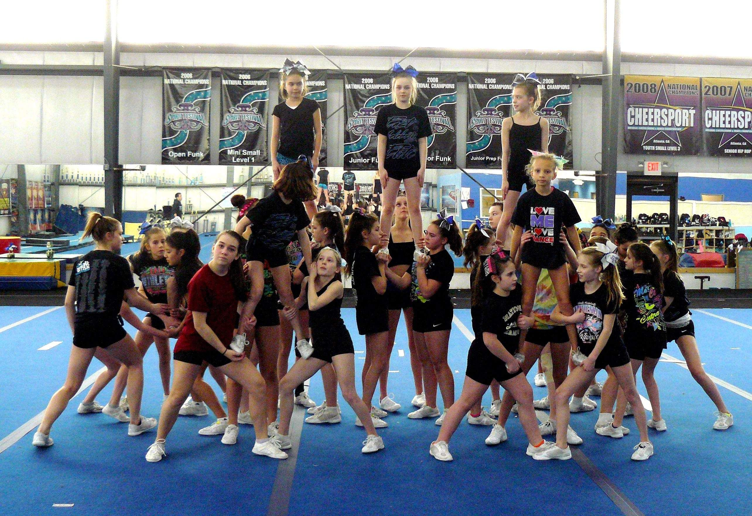 The East Celebrity Elite Cheer And Dance Junior Level 4 Team Practices Sunday In Montville