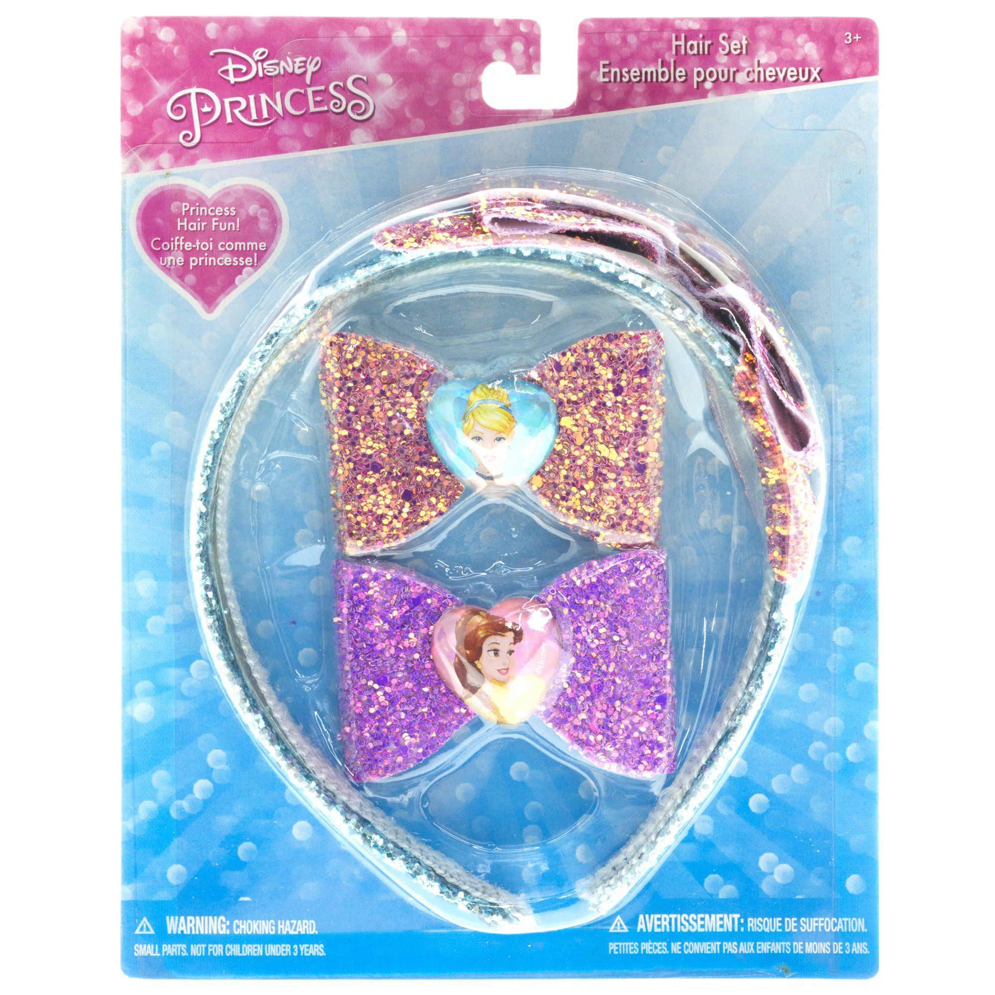 Disney princess hair accessories set products