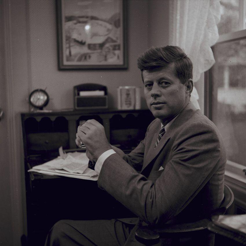 Senator John F. Kennedy Portrait, 1957 Photographic