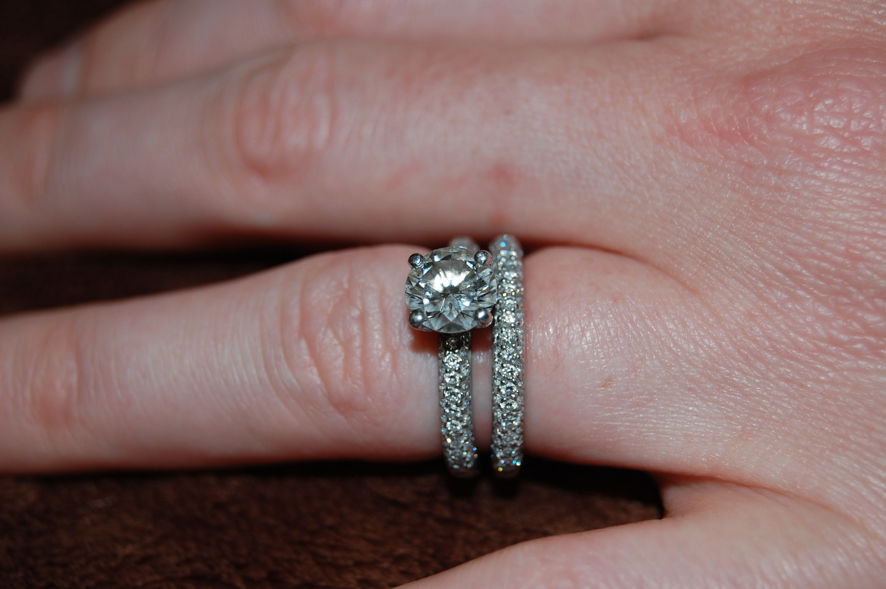 7 Best Rings For Your Wedding In 2017 Round Brilliant Engagement Ring With Micro Pave Band And