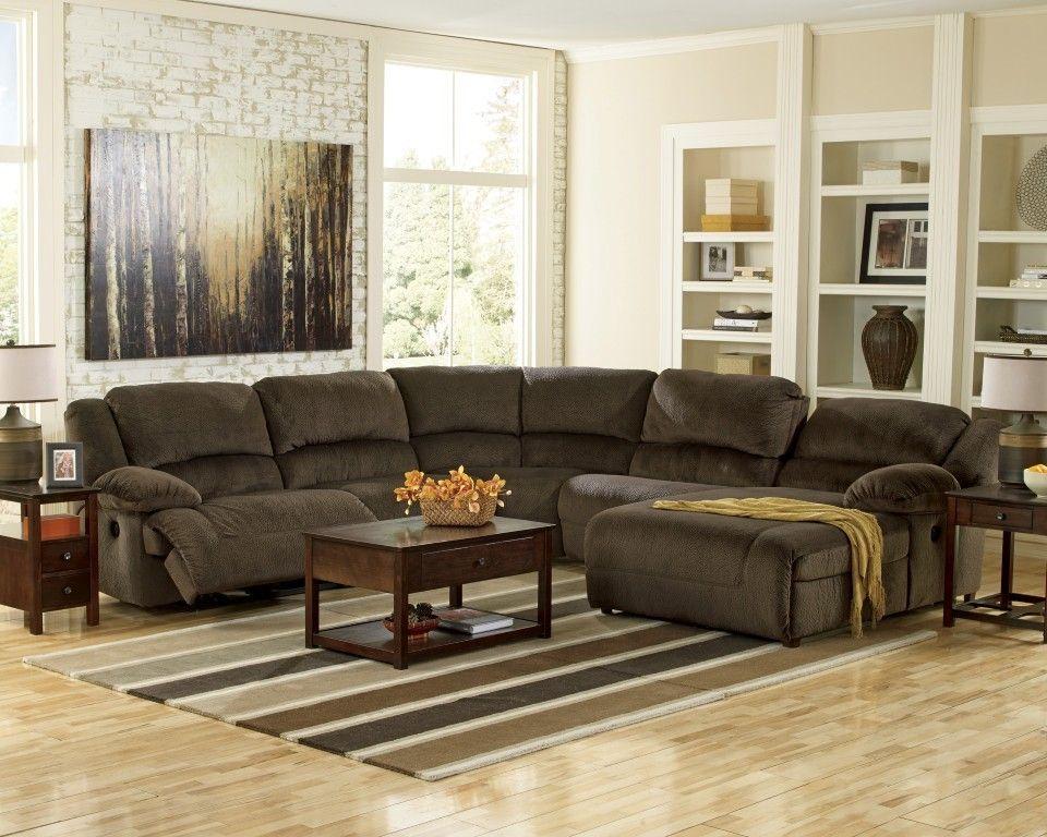 Toletta Sectionnel En Tissu 5 Morceaux Avec Mecanisme Motorise Sectional Sofa With Recliner Reclining Sectional Reclining Sectional With Chaise