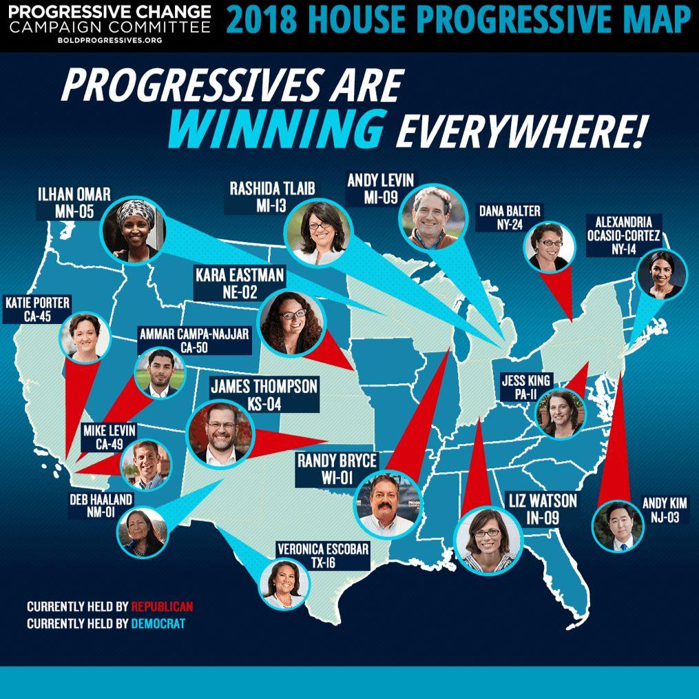 Demolishing Claims of 'Waning' Progressive Movement, Bold