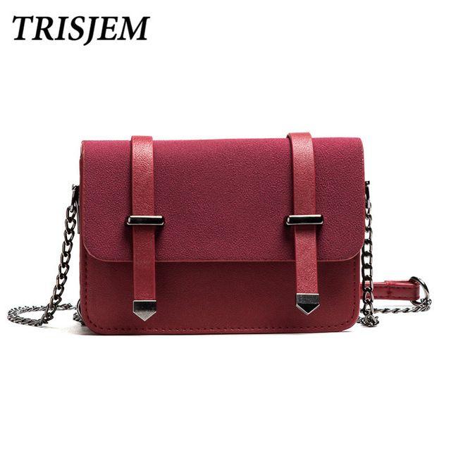4d4db1fb03 TRISJEM bags for women 2017 woman messenger bags small crossbody bags for  women fashion cute mini chian shoulder bag black pink