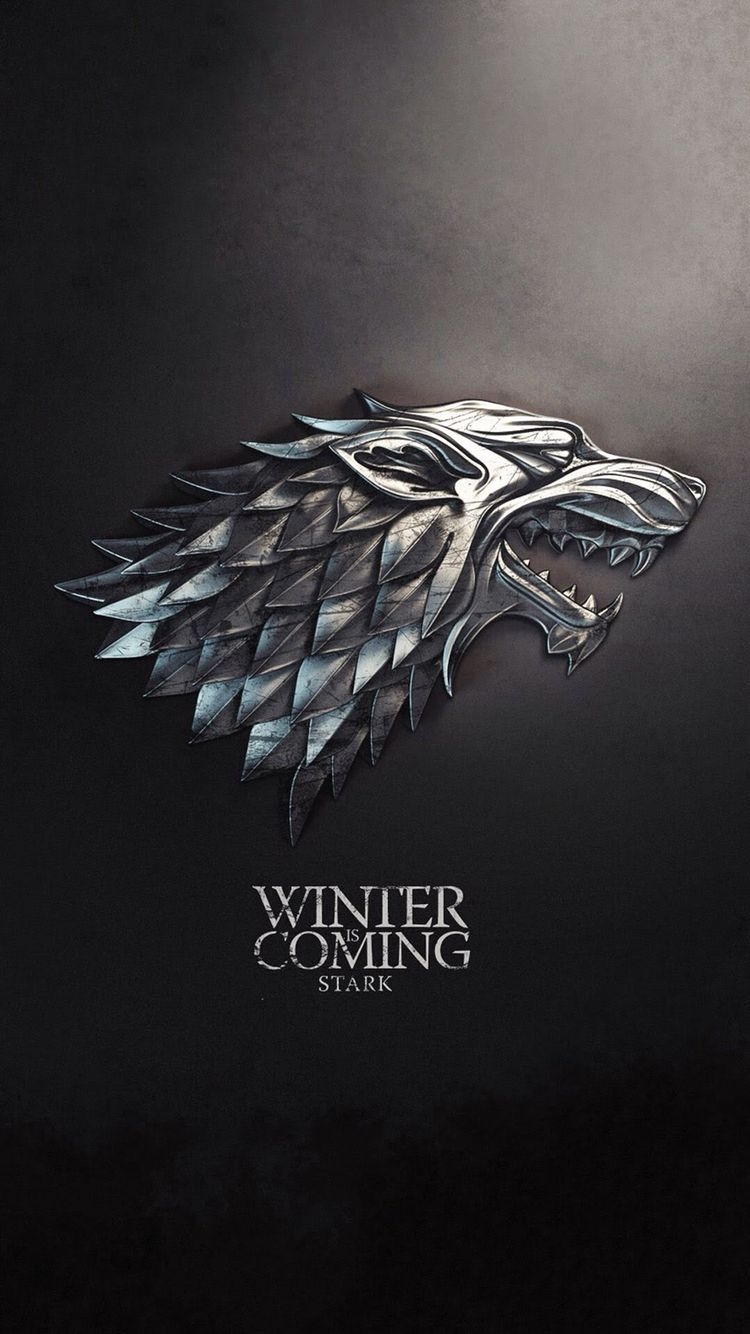 iPhone, Winter is Coming, Game of Thrones, Black - Wallpaper | Iphone wpr | Game of thrones ...