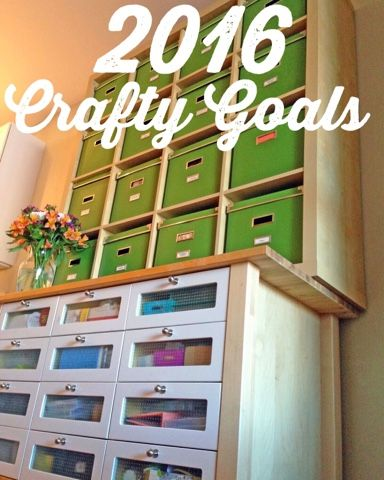 Painted Ladies Journal: Holly's 2016 Crafty Goals!