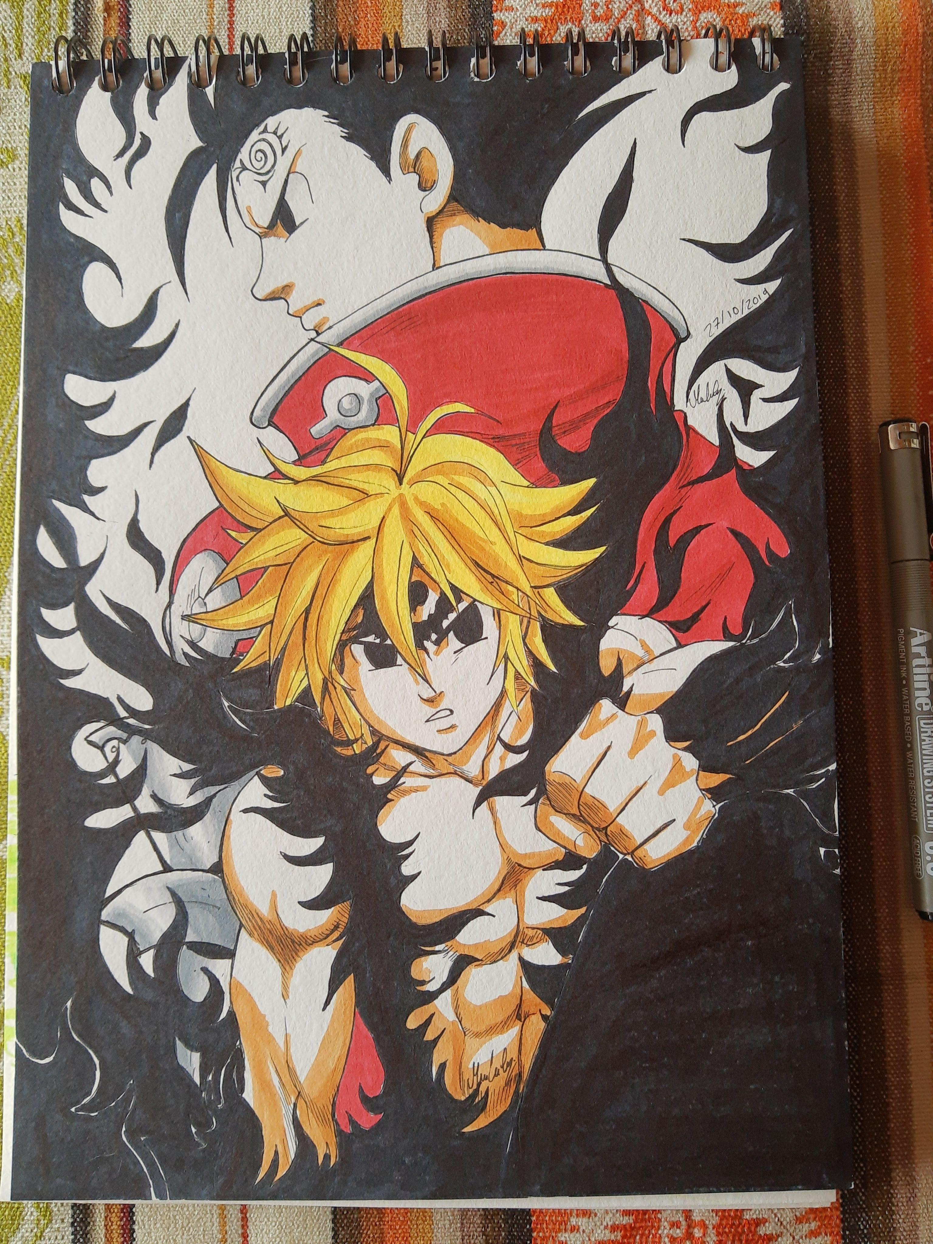 #animeart #animefanart #sevendeadlesins #nanatsunotaizai #zeldris   Displate thumbnail