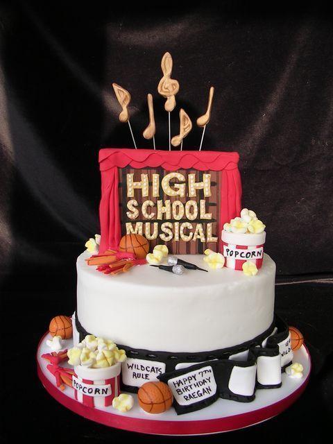 High School Musical Cake Google Search Cake Ideas In 2018