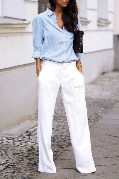 10 Work Outfits That Will Keep You Professional And Cool This Summer #workoutfitswomen