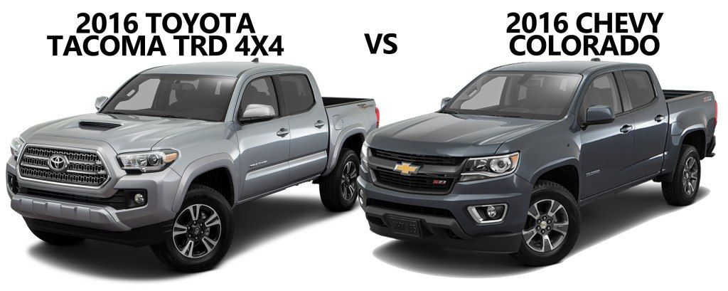 Chevy Colorado Vs Toyota