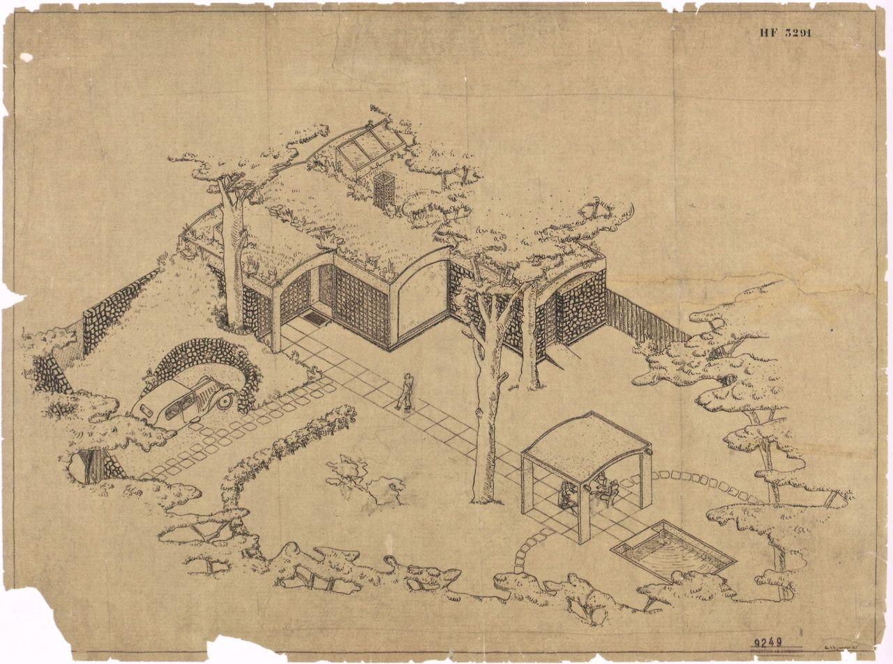 Le Corbusier, Le Petite Maison de Weekend (Villa Henfel), (1935)
