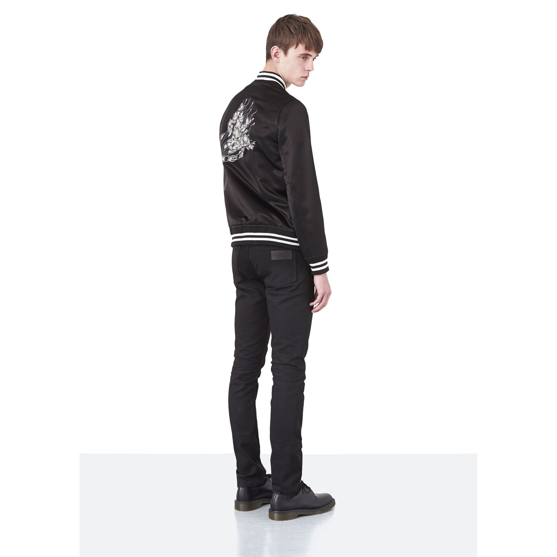 APRIL77 - Flesh Black Sun - Satin Souvenir Jacket