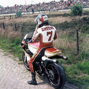 Barry Sheene - Assen TT 1977
