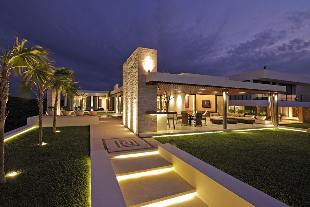 casa de playa lm by anabel cervantes lighting by luminica iluminacion
