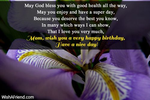 May God Bless You With Good Health All The Way May You Enjoy And