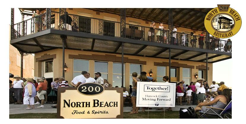 Bay St Louis Ms 200 North Beach Restaurant Is A Casual Beachfront Located In Historic Circa 1903 Building On Boulevard