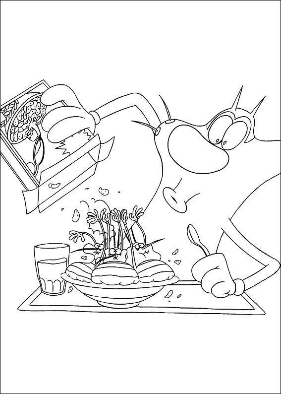 20 Picture Oggy And The Cockroaches Coloring Printable Pages For Kids Oggy And The Cockroaches Pi Online Coloring Pages Coloring Pages Coloring Pages For Kids