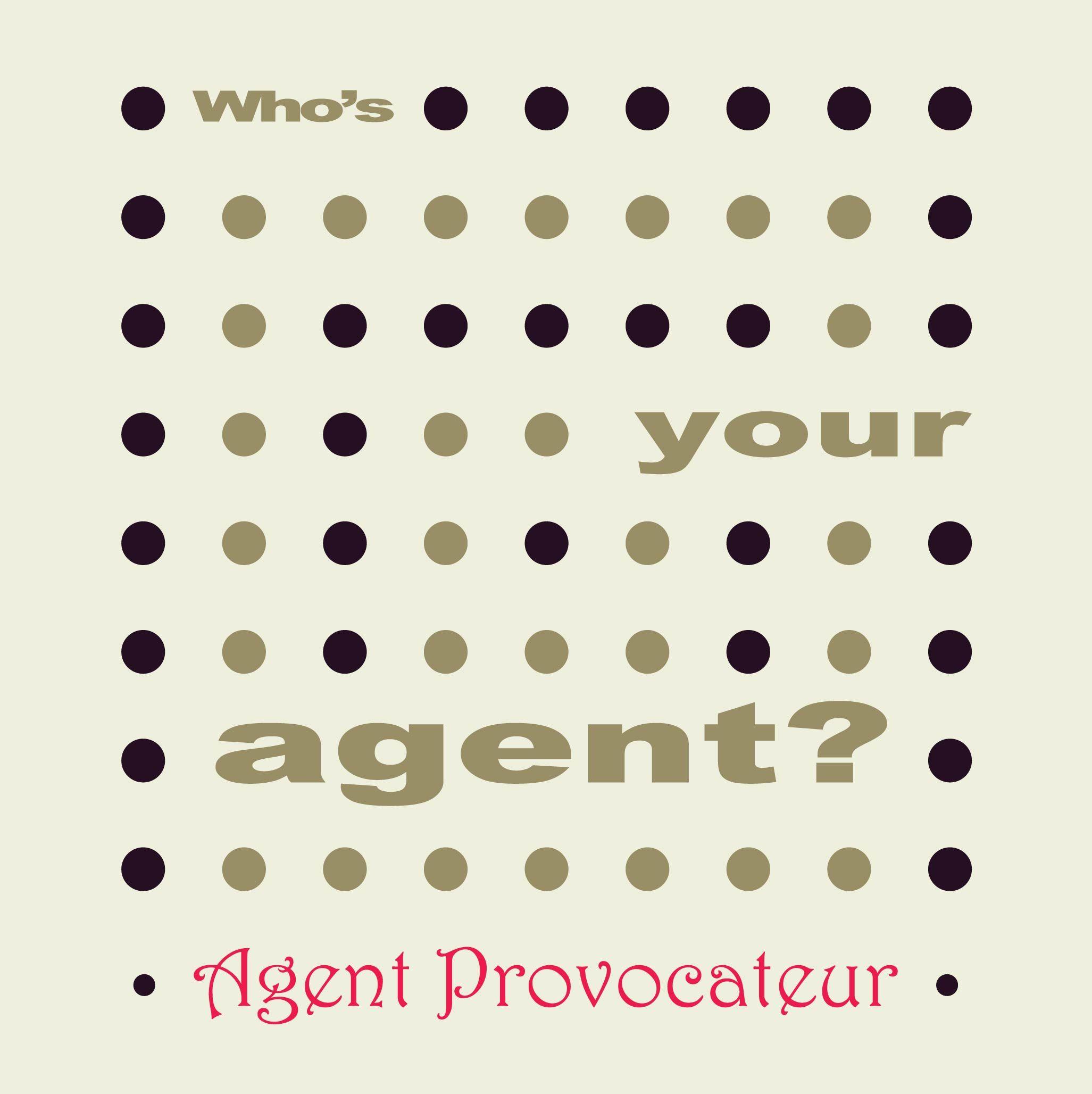 Neondots WhoS Your Agent  Agent Provocateur Conceptual Design