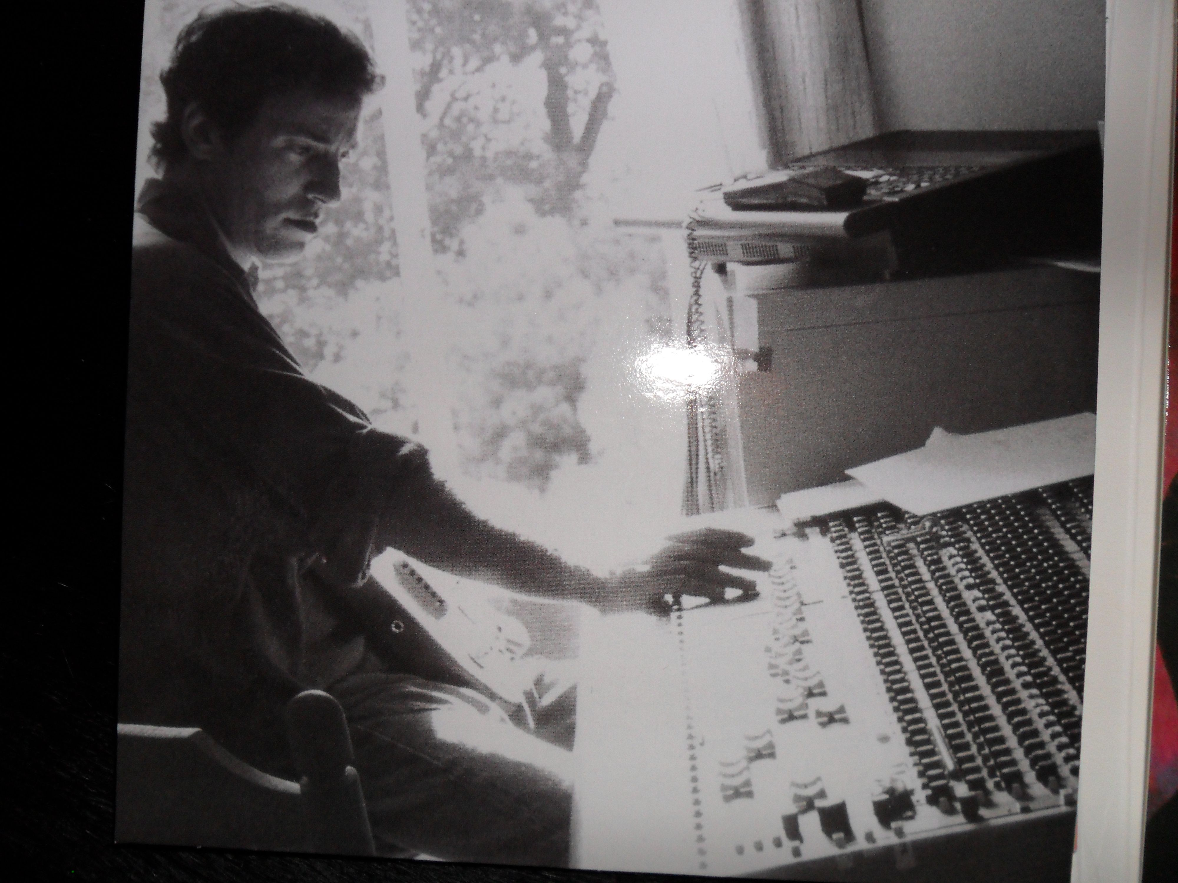 The Boss home recording the songs that became Born in The