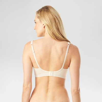 9585cf7b14545 Simply Perfect by Warner s Women s Underarm Smoothing Seamless Wireless Bra  Toasted ...