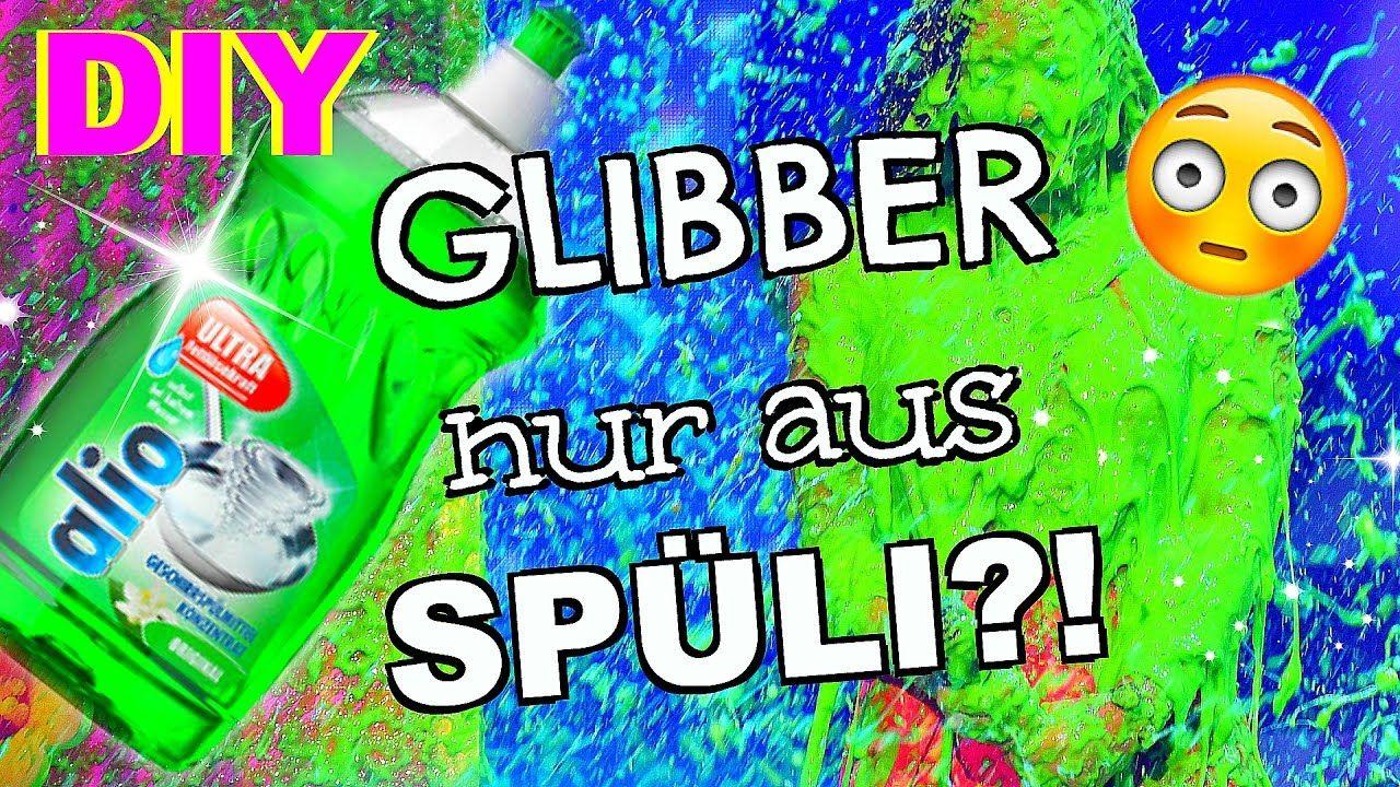 Diy Glibbi Schleim Aus Spüli Und Salz Selber Machen I Slime Ohne