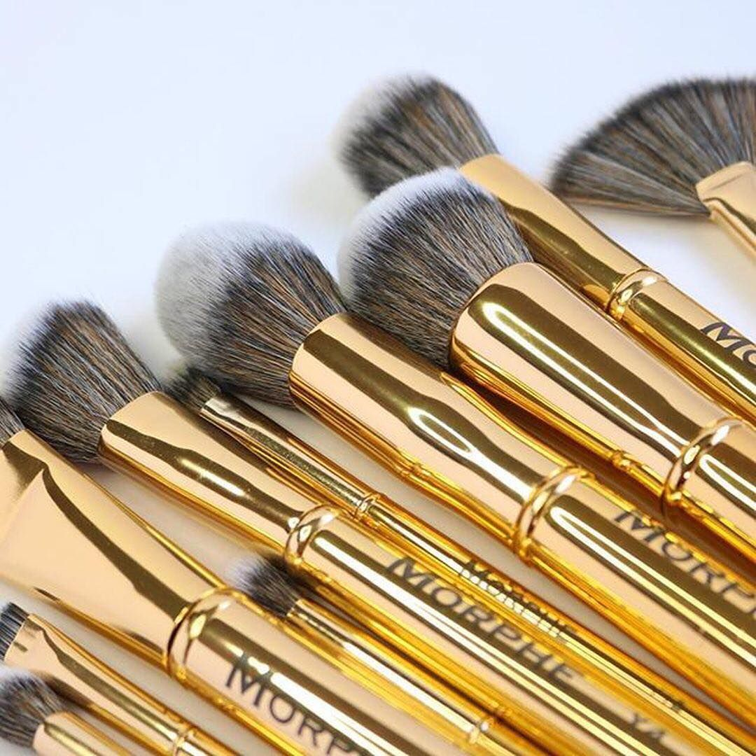 Morphe Brushes Get upclose and personal with the Gilded