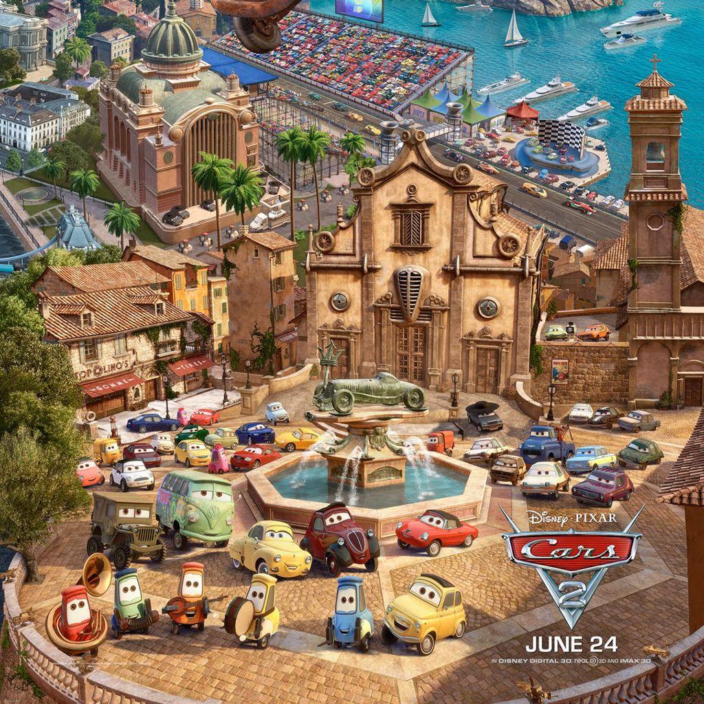 Cars 2 Party Idea Pixar Cars Disney Cars Disney Pixar Cars [ 1024 x 1024 Pixel ]
