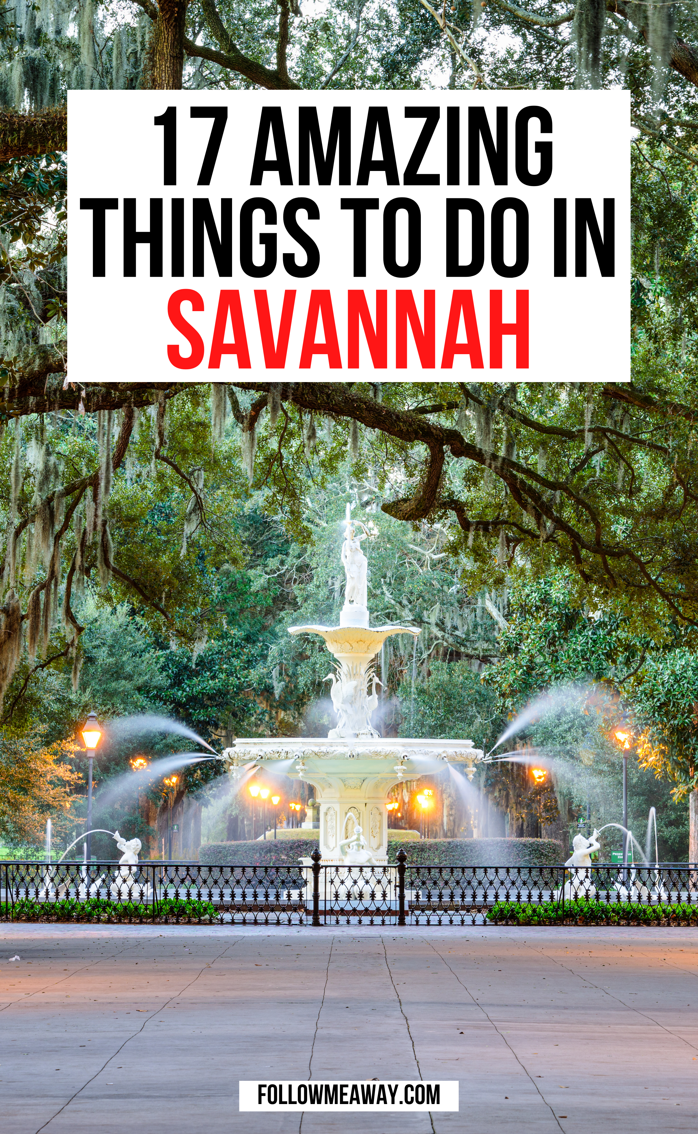 17 Coolest Things To Do In Savannah Georgia In 2021