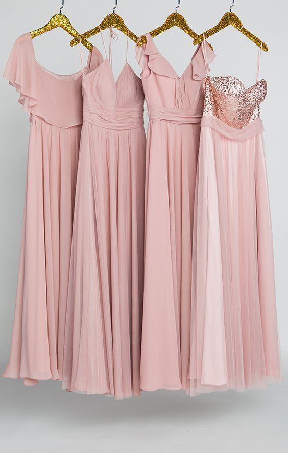Bridesmaid Dresses Blush Ideas   Bridesmaids Dresses   Pinterest