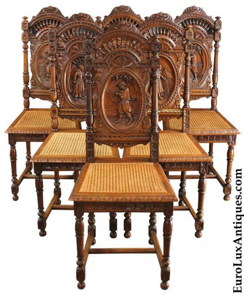 Antique Brittany chairs KC-33B-1 - Antique Brittany Chairs KC-33B-1 House Idea Antiques, Antique