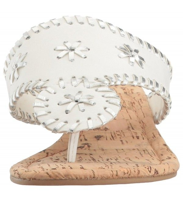 545b1dfc42 Women's Shoes, Sandals, Platforms & Wedges, Women's Scheena Thong Cork Low  Wedge Sandal - White/Silver - CB12O1FWTBV #Women #Shoes #Sandals #fashion  ...