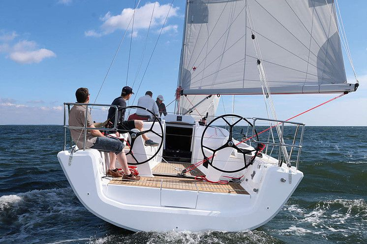 Dehler 34 Sailing In 2019 Boat Sailing Fast Boats