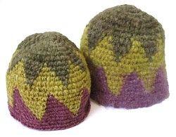 Tapestry Crochet cappelli da modello